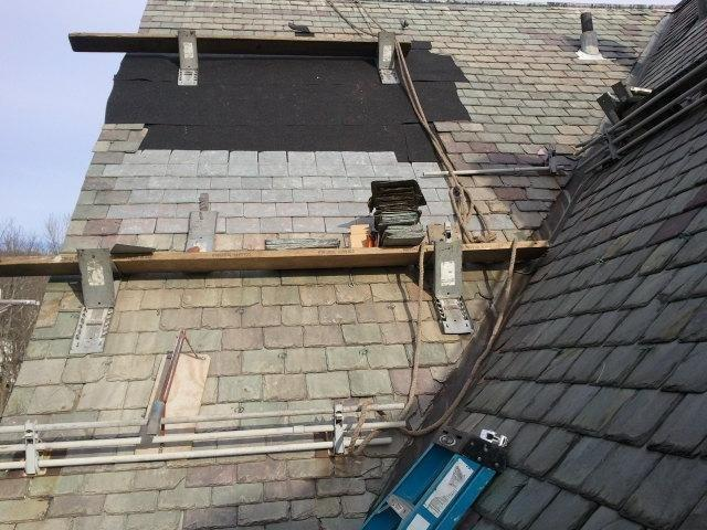 New York Roofer Contractor 187 Slate Roof Repair Tuxedo Ny