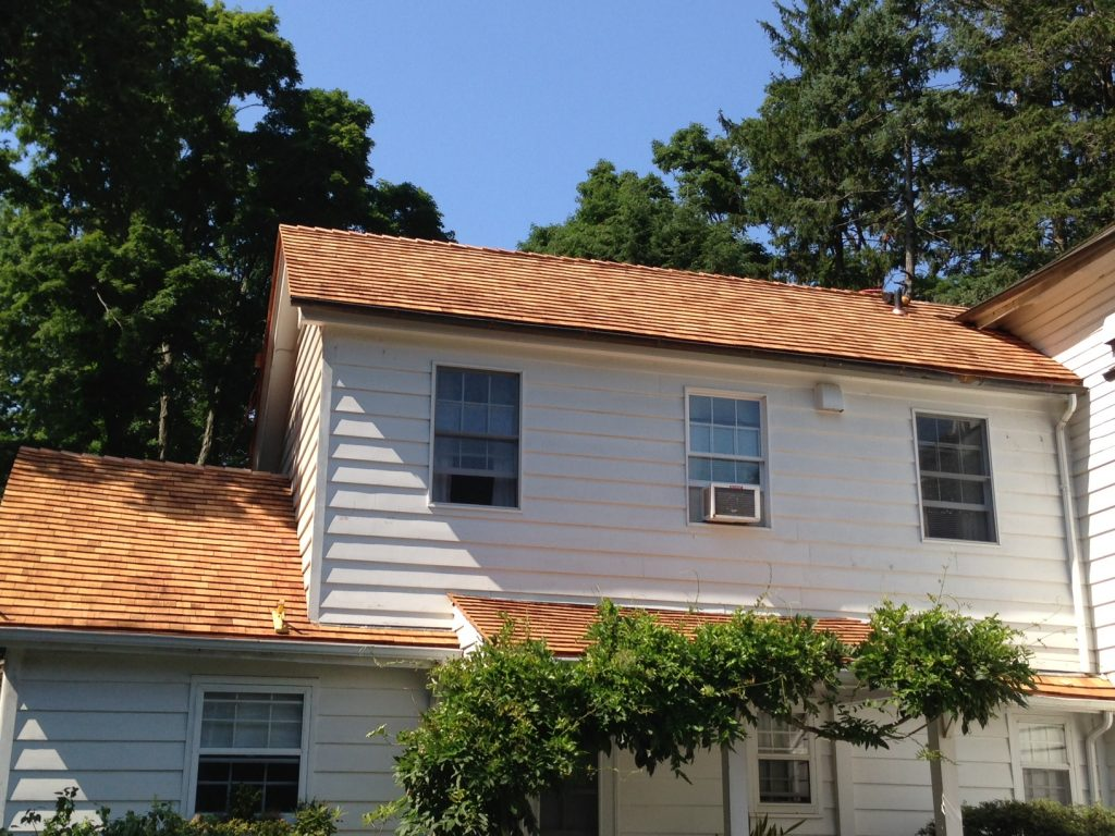 New Wood Roof in Scarsdale NY