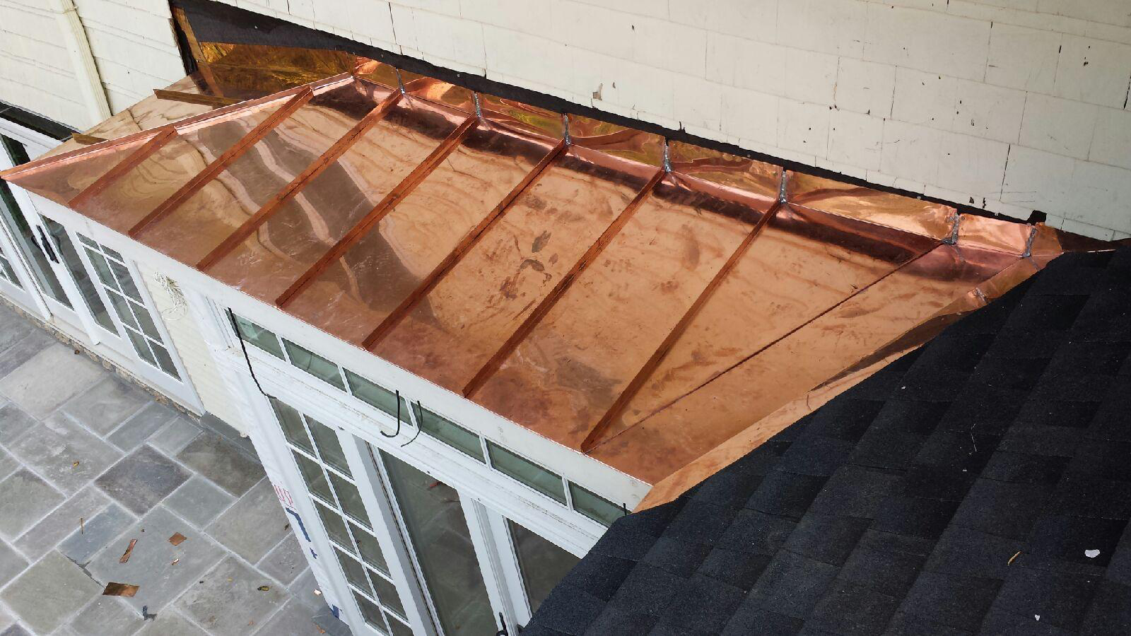 New York Roofer Contractor 187 New Copper Bay Roof In Bronxville